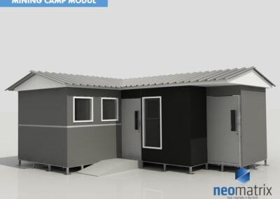 mining camp modul